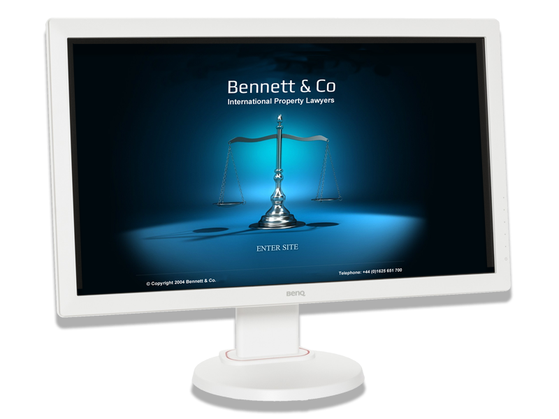 Bennett & Co Solicitors Website developed by InForm Web Design