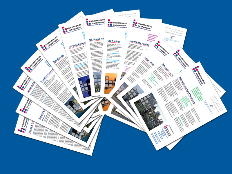Brookes Bates Partnership - Offline Marketing - Factsheets & Brochures - InForm Web Design