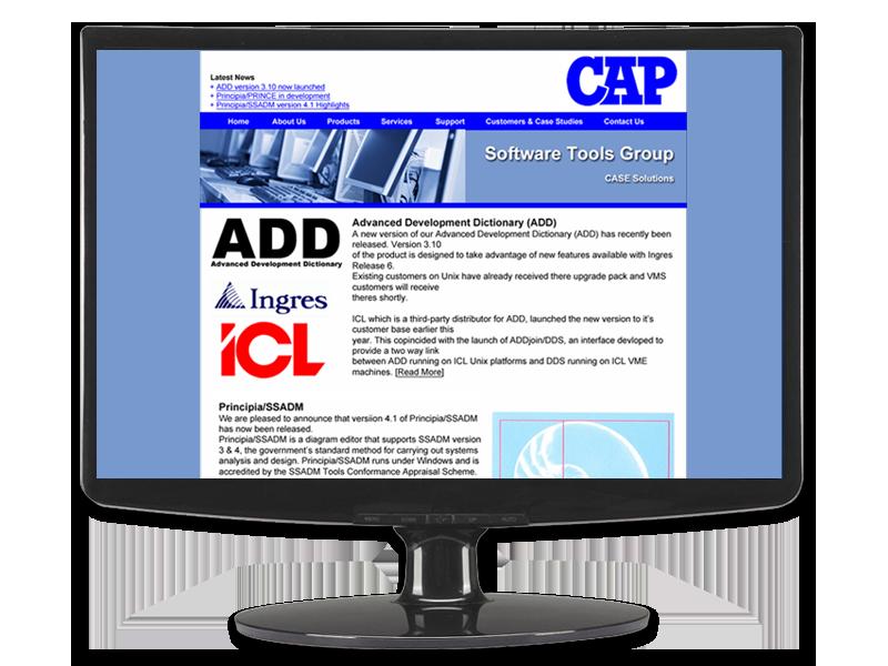 CAP Group Ltd Website by InForm Web Design