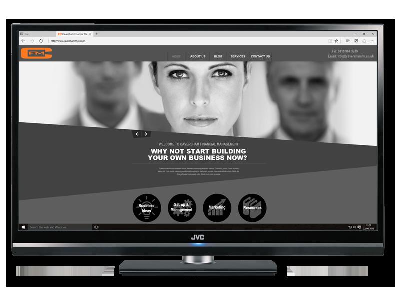 Caversham Financial Management (CFM) Website designed & developed by InForm Web Design