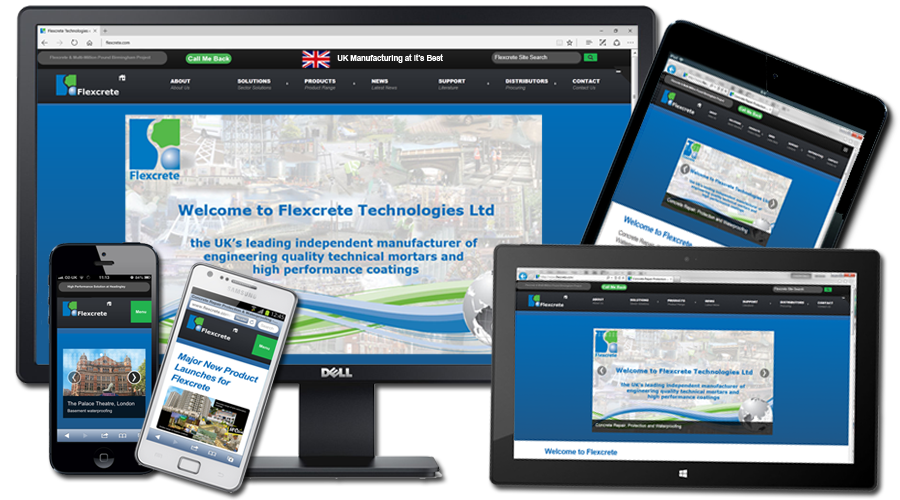 Flexcrete Technologies Limited - Fully Integrated Marketing Solution by InForm Web Design