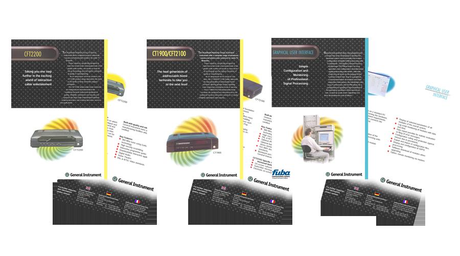 General Instrument Europe (GI) Website by InForm Web Design