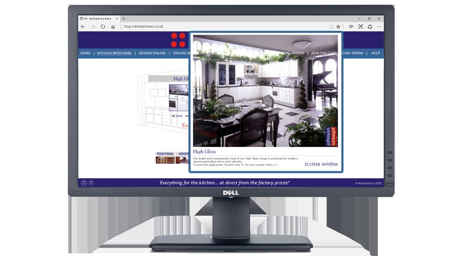 Johnson & Johnson Furniture Plc Website developed by InForm Web Design