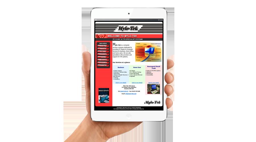 Mylo-Tek Limited Website by InForm Web Design