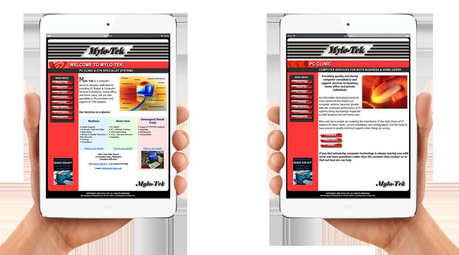 Mylo-Tek Website by InForm Web Design