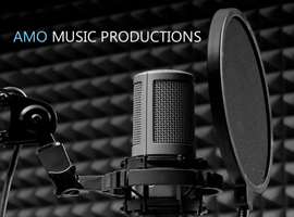 AMO Music Productions Website Designed by InForm Web Design