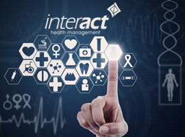 Interact Health Management Limited Website Designed by InForm Web Design