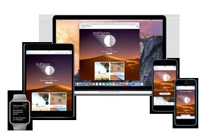 Responsive HTML Email Newsletter Design from InForm Web Design
