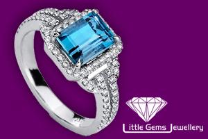 Little Gems Jewellery E-commerce website by InForm Web Design, Lancashire